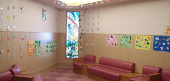 2010年夏 小児病棟の壁面飾り