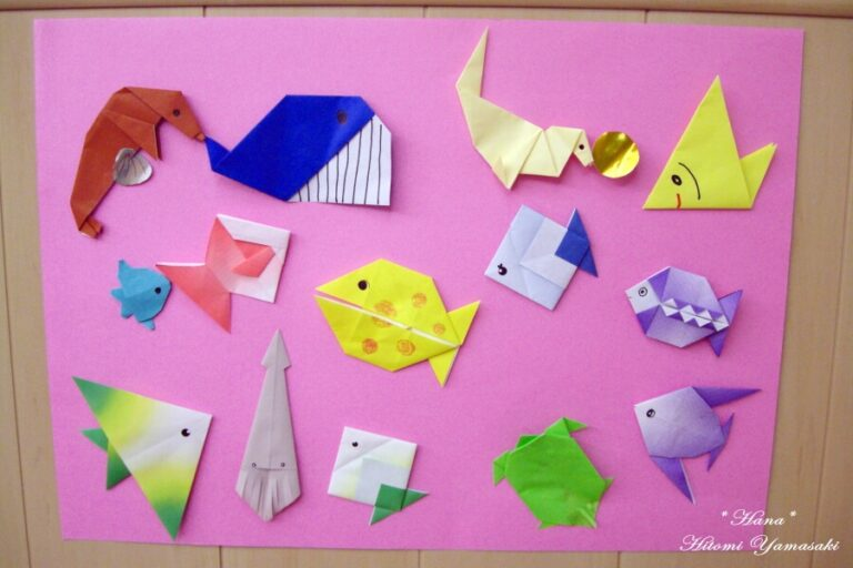 小児病棟の壁面飾り 水族館 岐阜大学病院小児科病棟