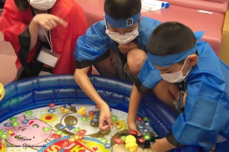 岐阜大学病院小児病棟で今年も「縁日」を開催します