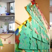 小児病棟の壁面飾り2011クリスマス