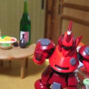 息子の机に住むロボットたち LBX劇場(ダンボール戦機)