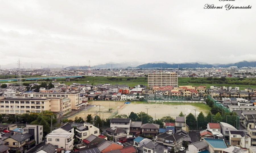 市民病院11階からの眺め