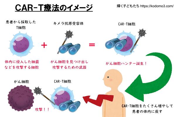 CAR-T療法のイメージ