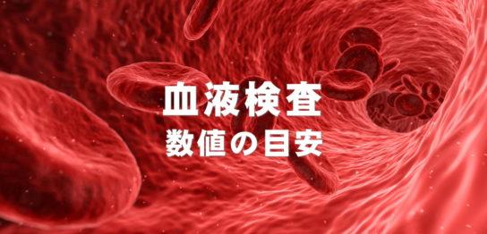 血液検査 数値の目安