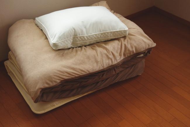 付き添い者の寝具